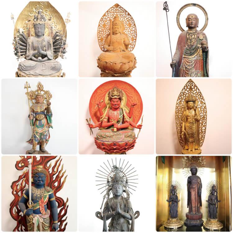 恵日山 観音寺(津観音)の仏像